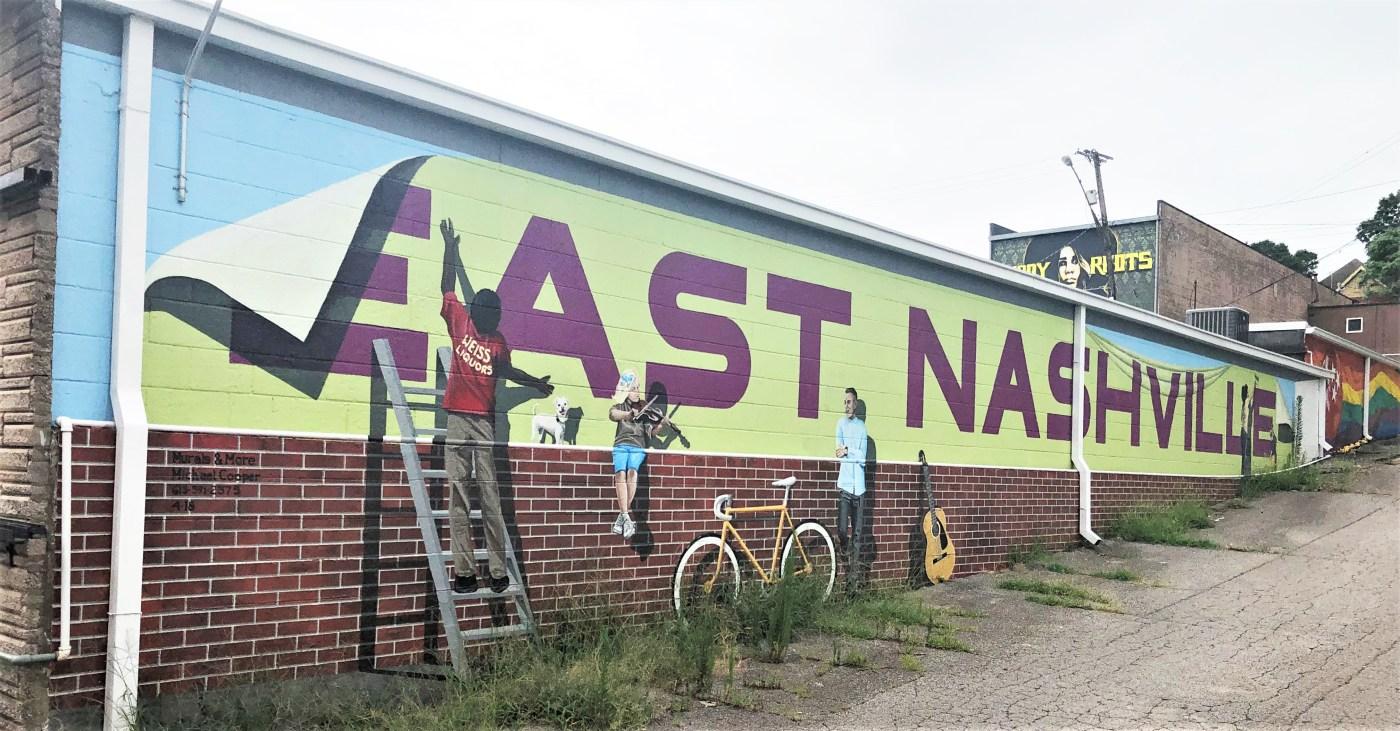 East Nashville mural street art Nashville