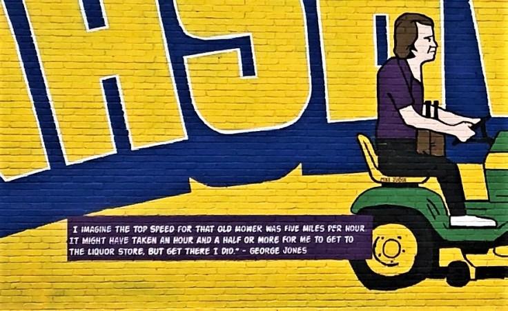 Jones Quote mural street art Nashville