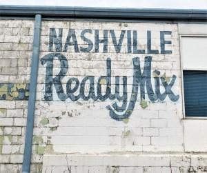 Ready Mix sign street art Nashville