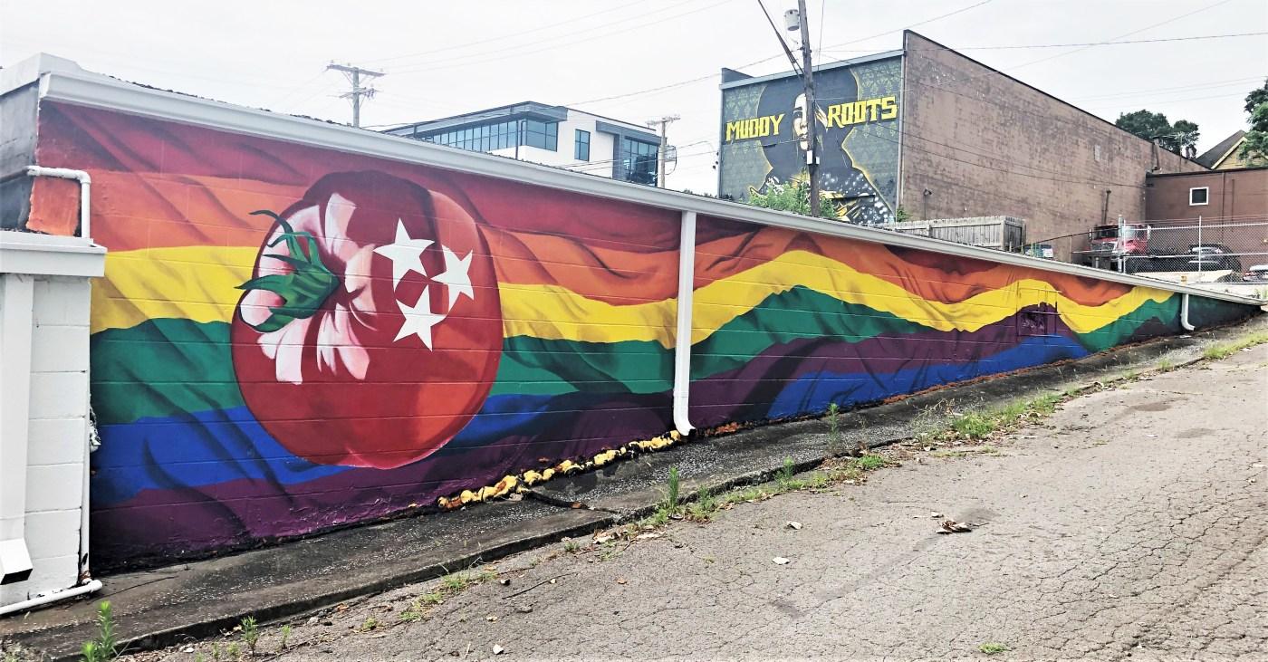 Tomato Arts mural street art Nashville