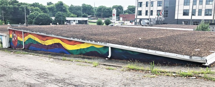 Weiss Tomato mural street art Nashville
