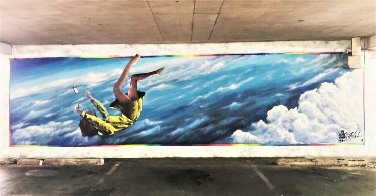Oner Folek mural street art Nasville