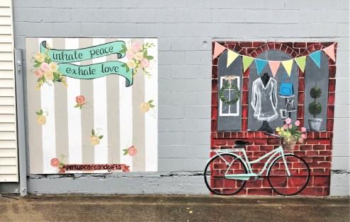 Perk Up murals street art Nashville Goodlettsville