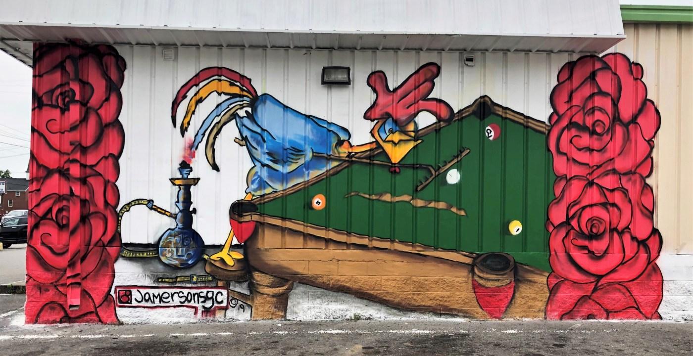 LaRosa Mural street art Nashville