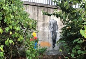 Becks Wooden Mural street art Nashville
