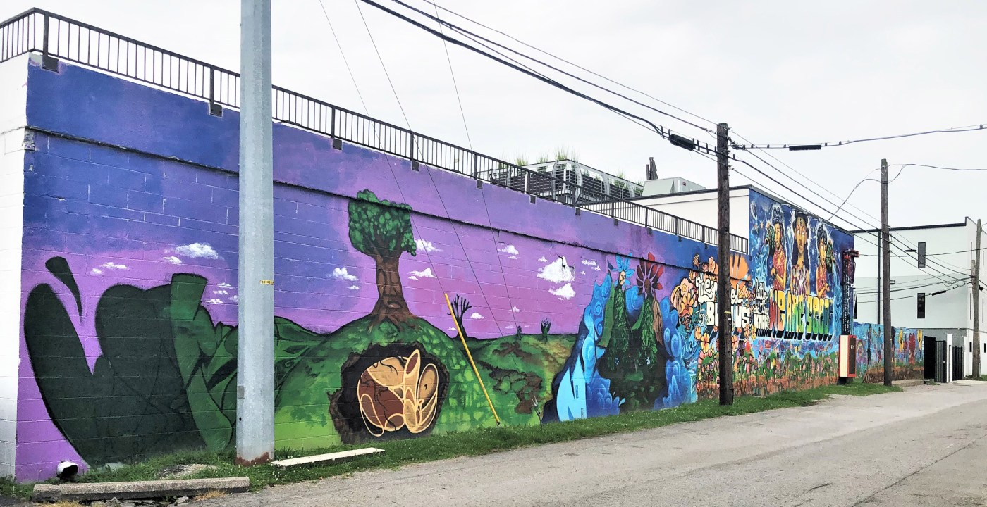 We Are Seeds Mural street art Nashville