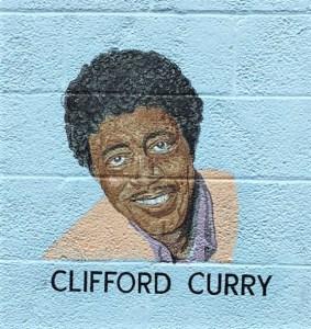 Clifford Curry mural street art Nashville