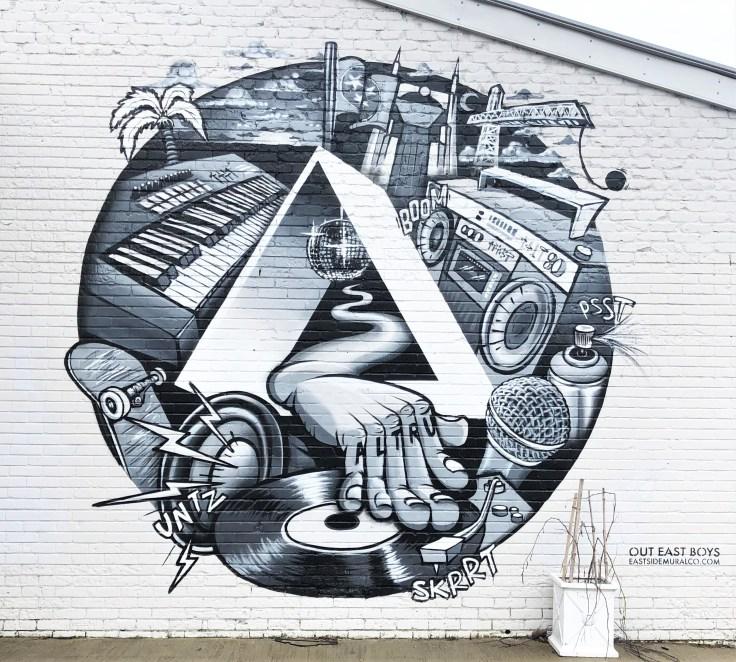 Altru Creative mural street art Nashville