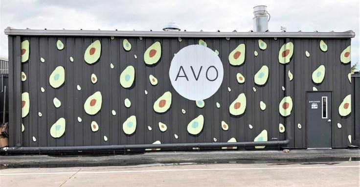Avo Mural avocados street art Nashville