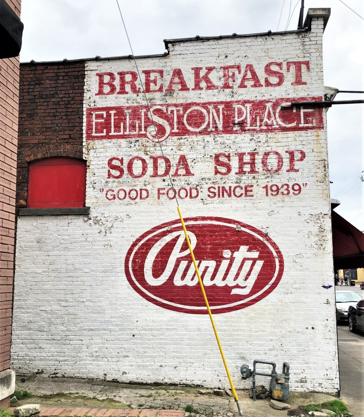 Elliston Soda Sign mural street art Nashville