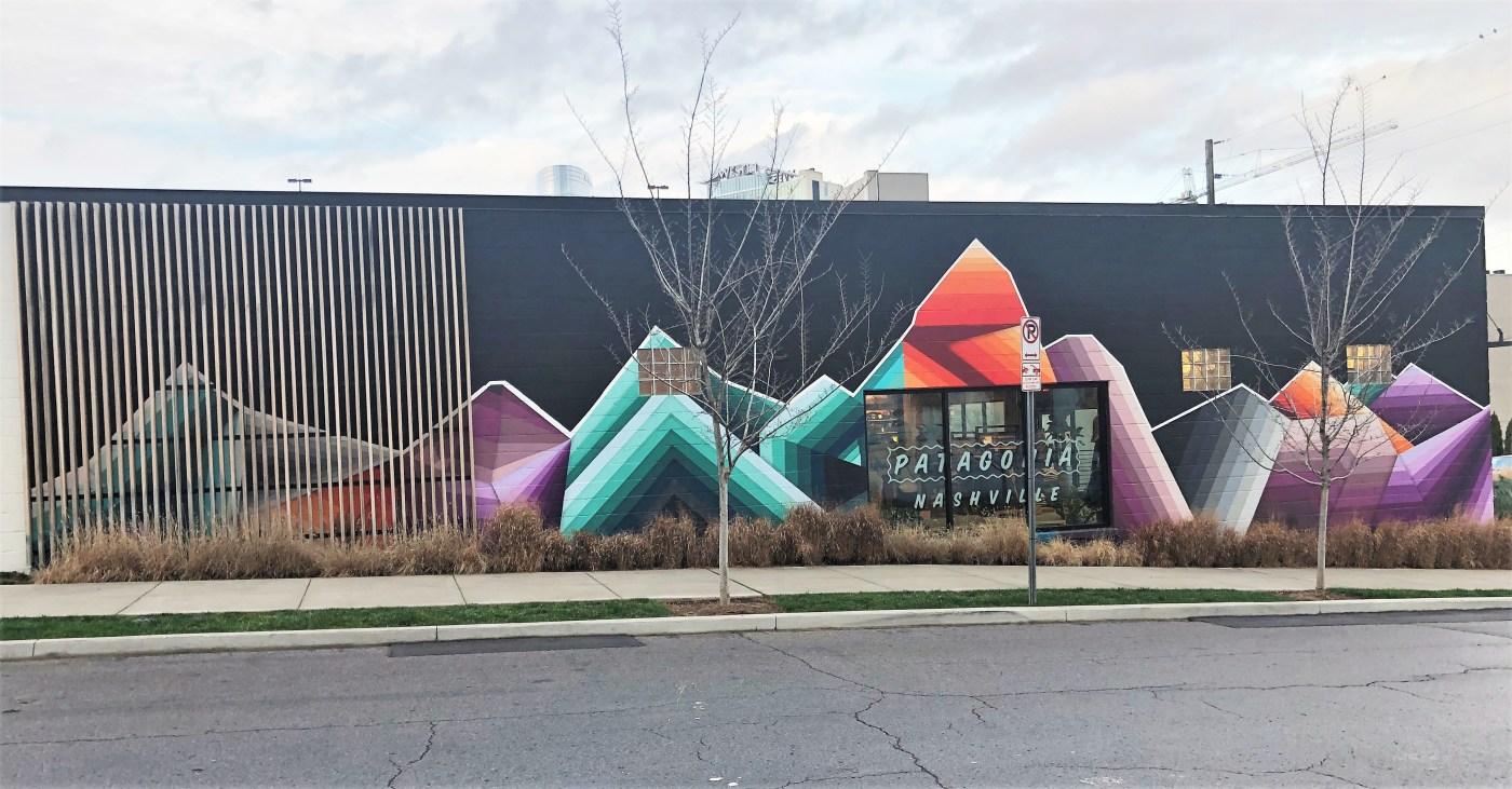 Patagonia Mural street art Nashville