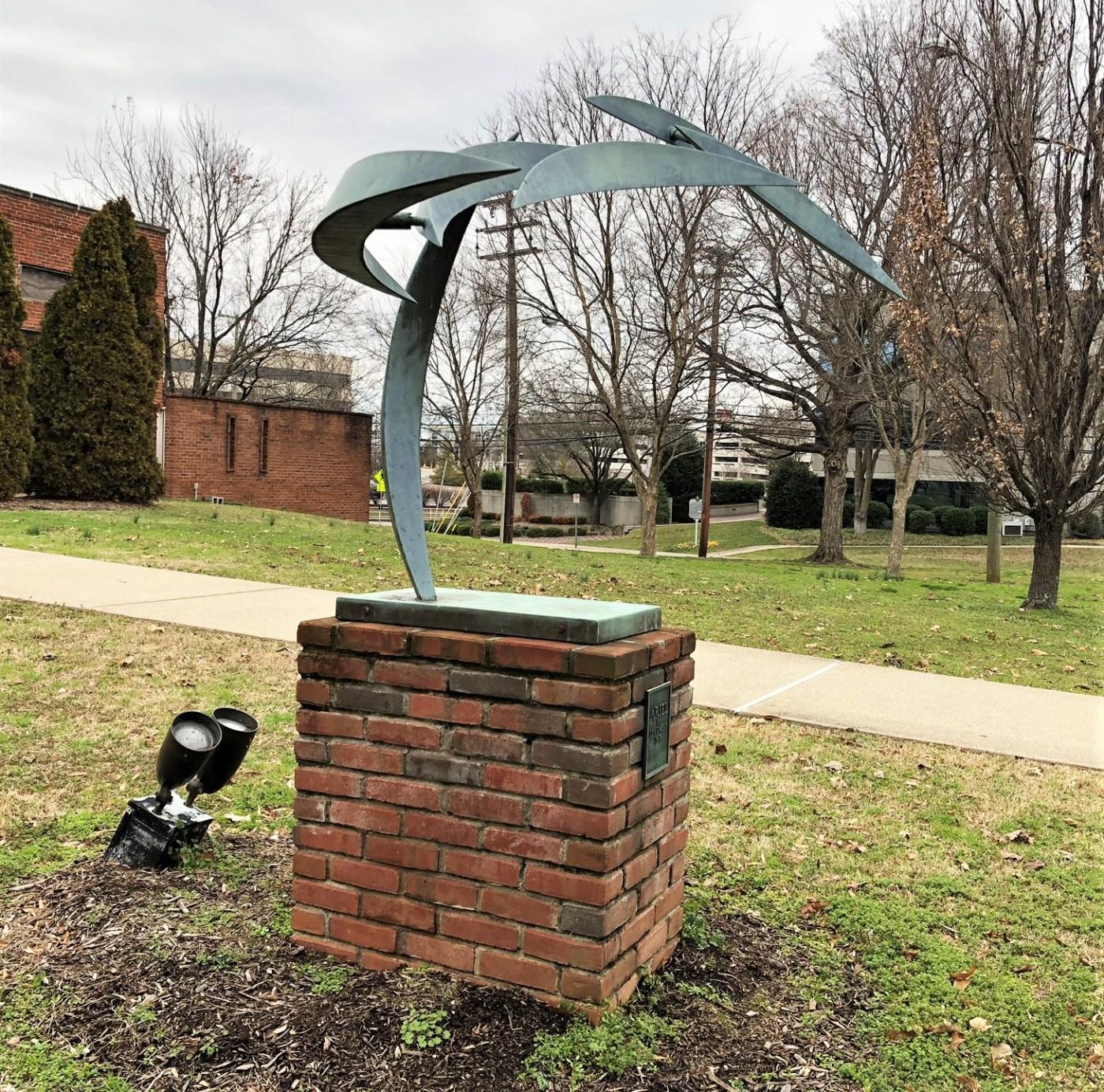 Ariel Statue public art Nashville