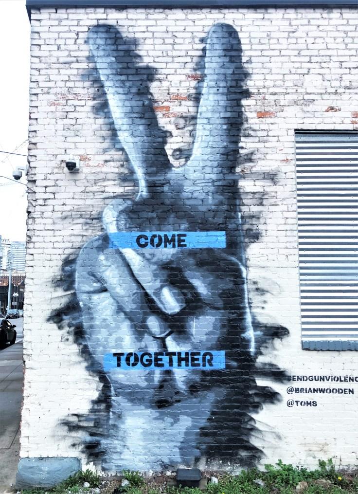 Come Together Nashville Mural street art