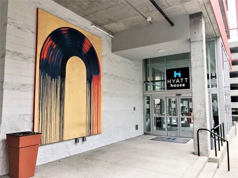 Dripping vinyl mural street art Nashville