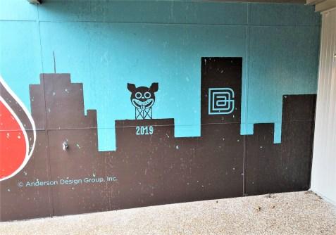 Dog Nashville mural street art