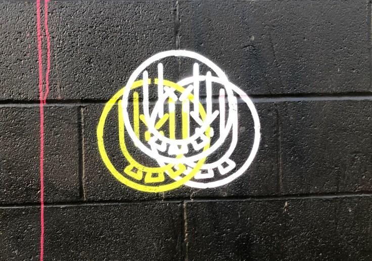 Impermanent Mural logo street art Nashville