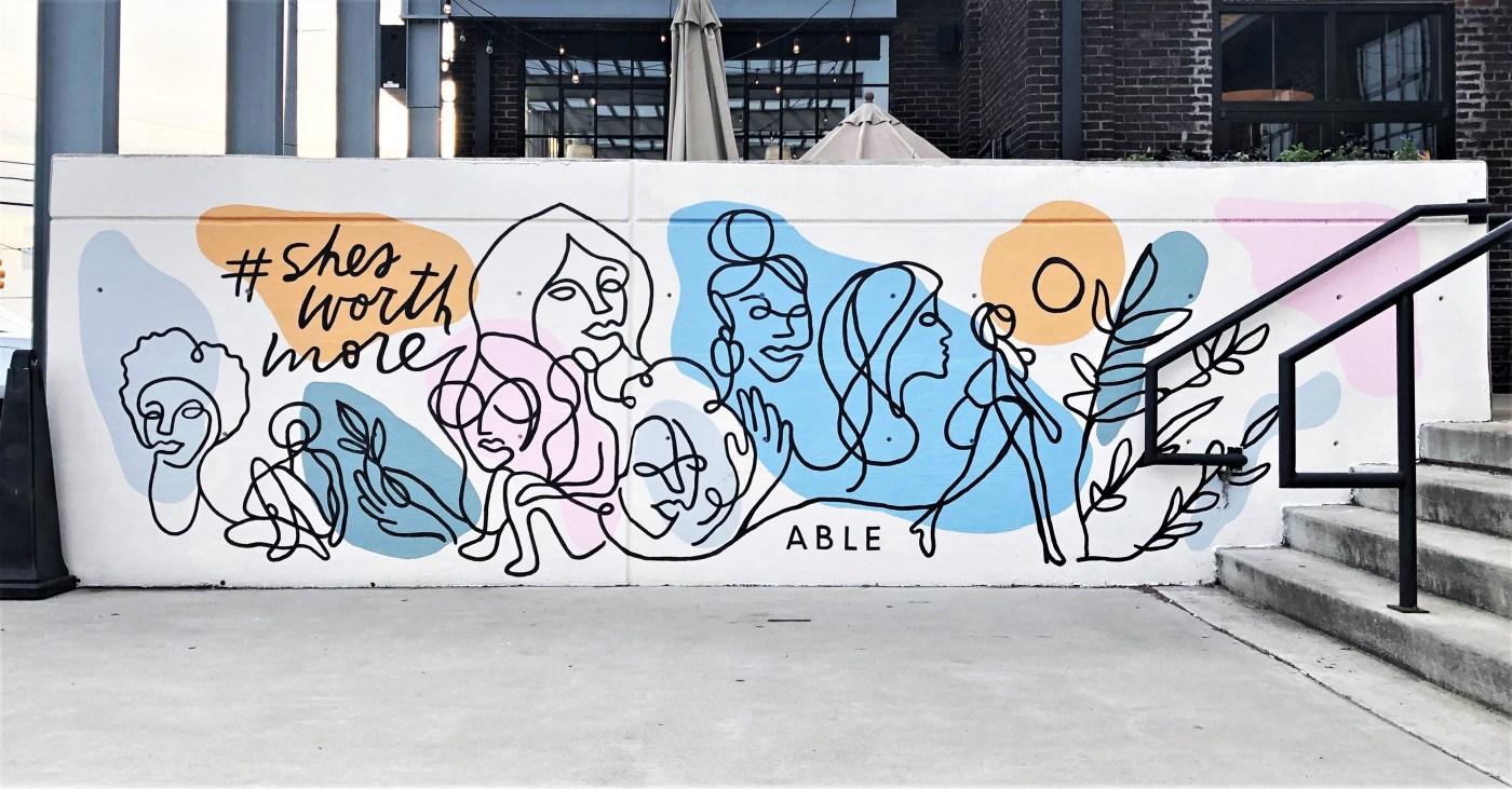 Able mural street art Nashville Tate