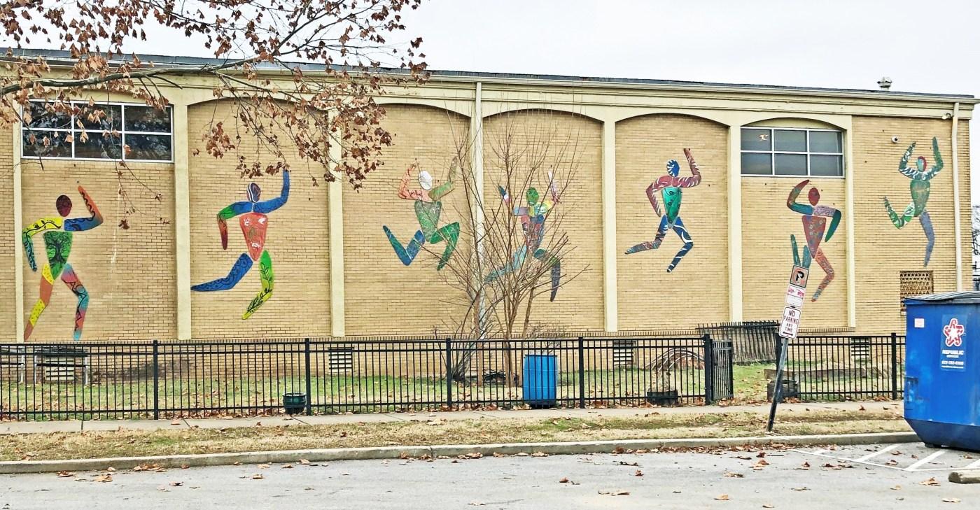 Watkins Figures mural Nashville Street art