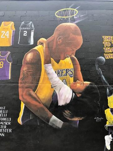 Kobe Bryant Mural Nashville street art