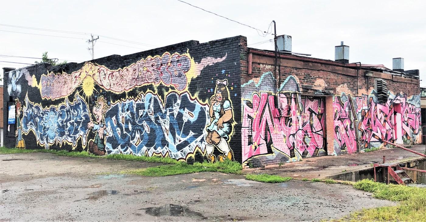 Cahal Graffiti Nashville Street art