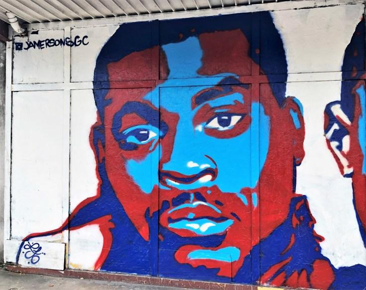 Jocques Clemmons mural Nashville street art