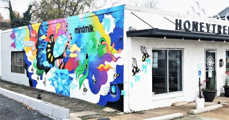 Mindmilk Mural Nashville street art