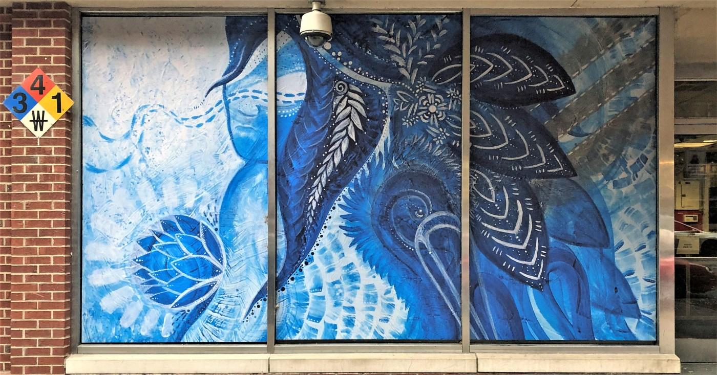 Jade Carter mural Nashville street art