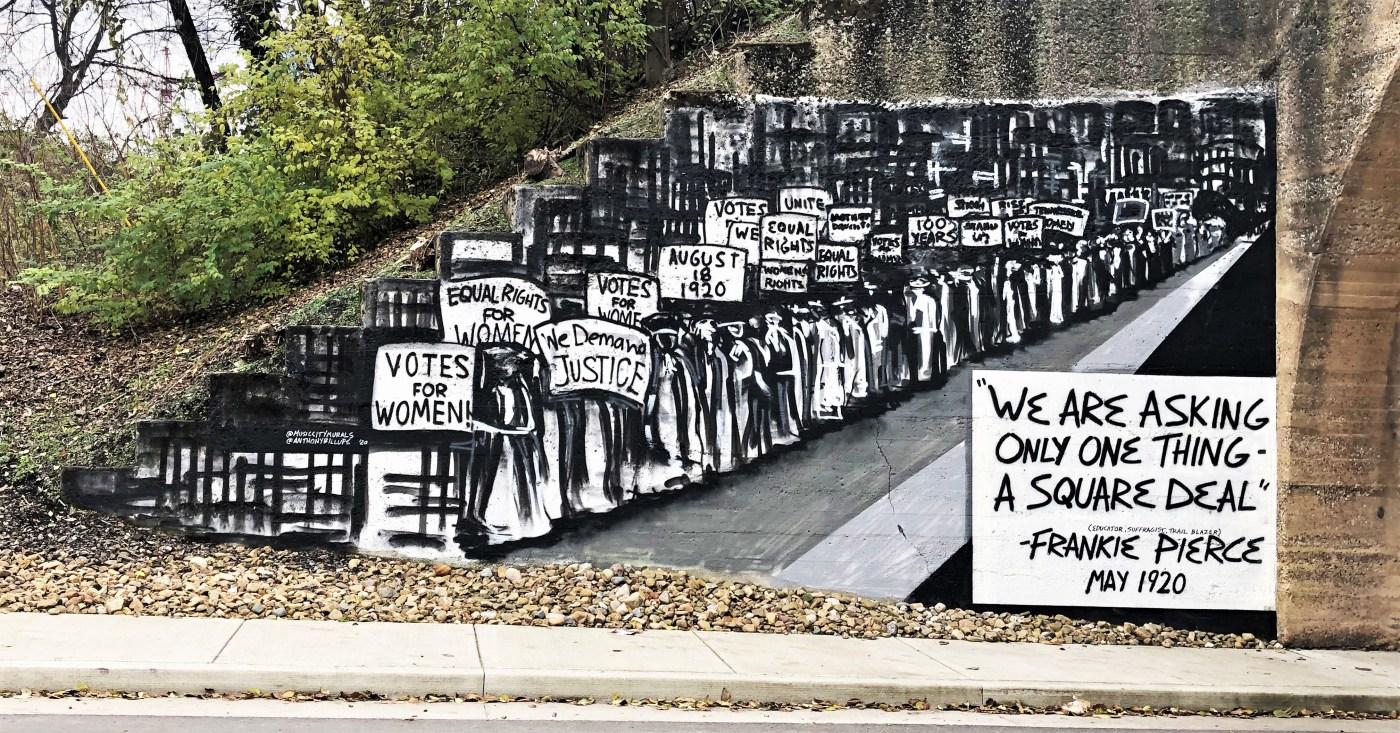 Pierce March Mural Nashville street art
