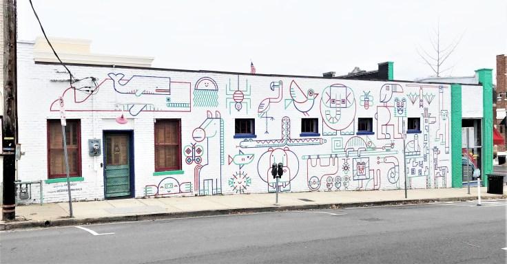 Arcade Mural Nashville street art