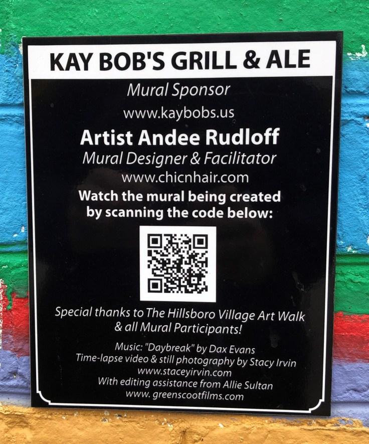 QR Code plaque