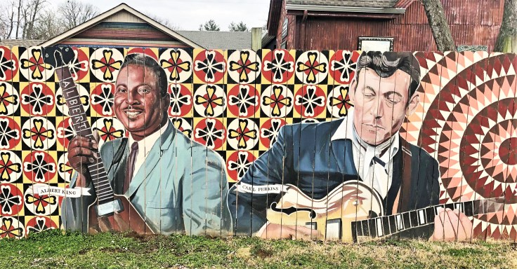 Berry Hill Faces Nashville street art