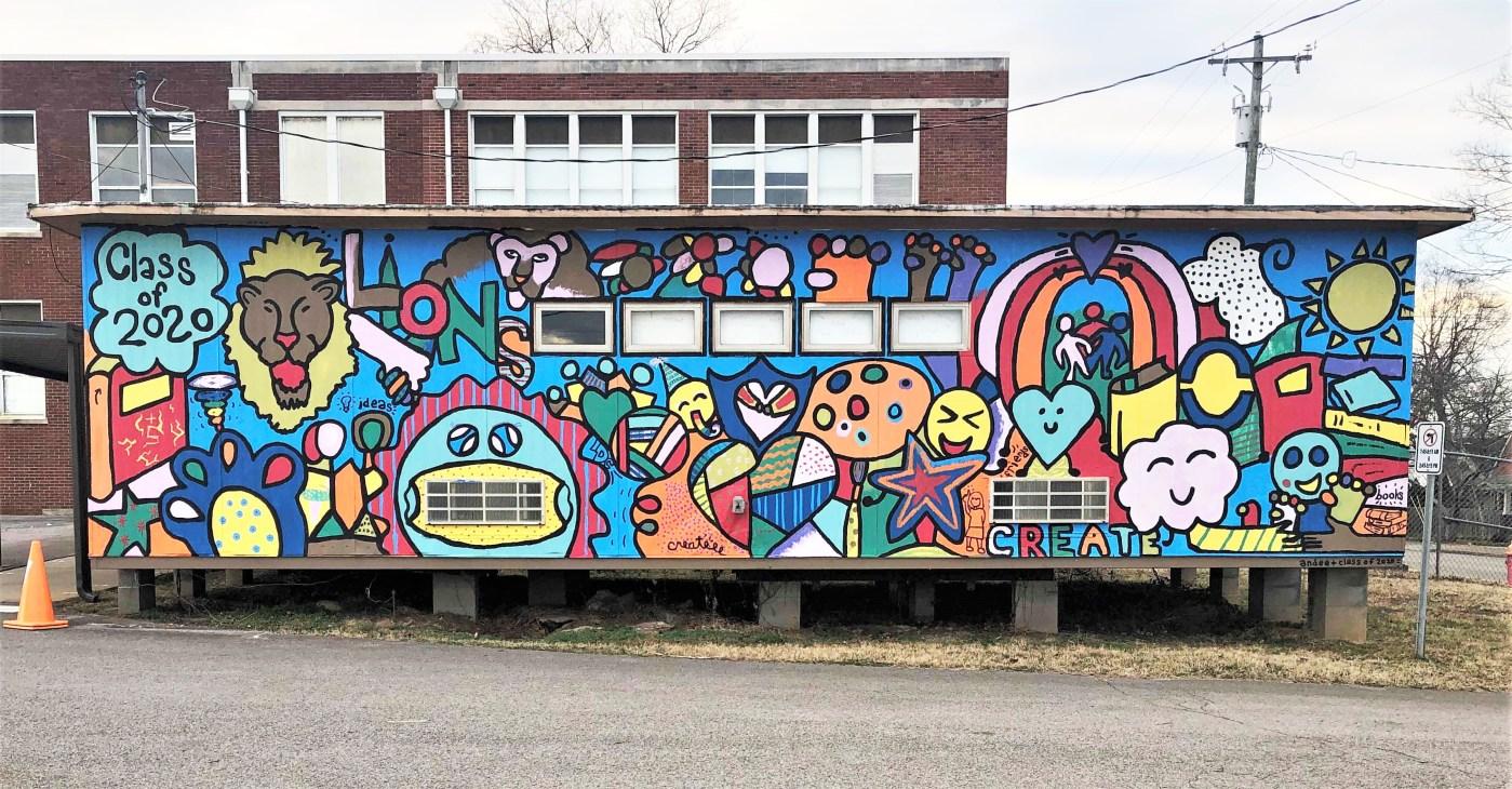Lockeland Design Mural Nashville Street art