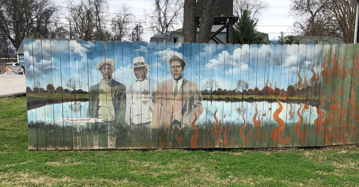 Mississippi Sheiks Mural Nashville street art