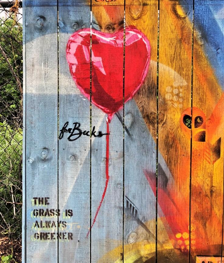For Becks Balloon Nashville Street art