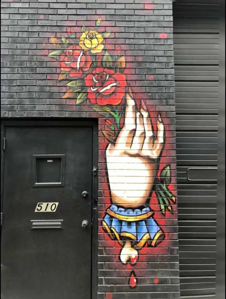 Pride & Glory mural Nashville Street art