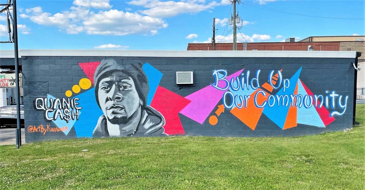 Quanie Cash mural Nashville street art
