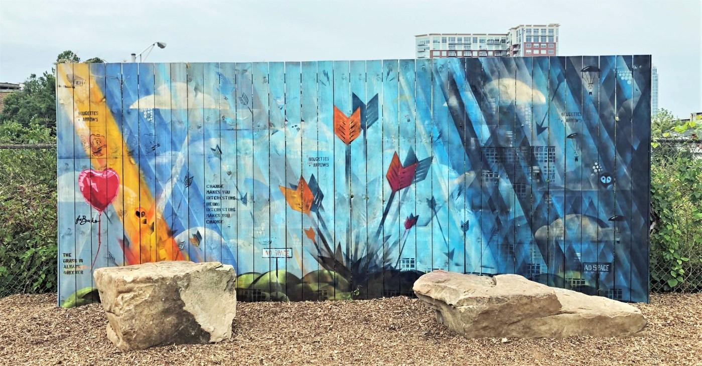 Skinner Gulch Mural Nashville Street art