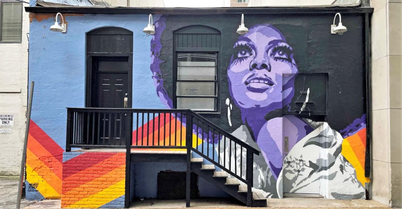 Diana Ross Mural Nashville street art