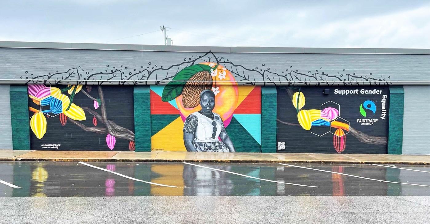 Fairtrade Mural Nashville street art