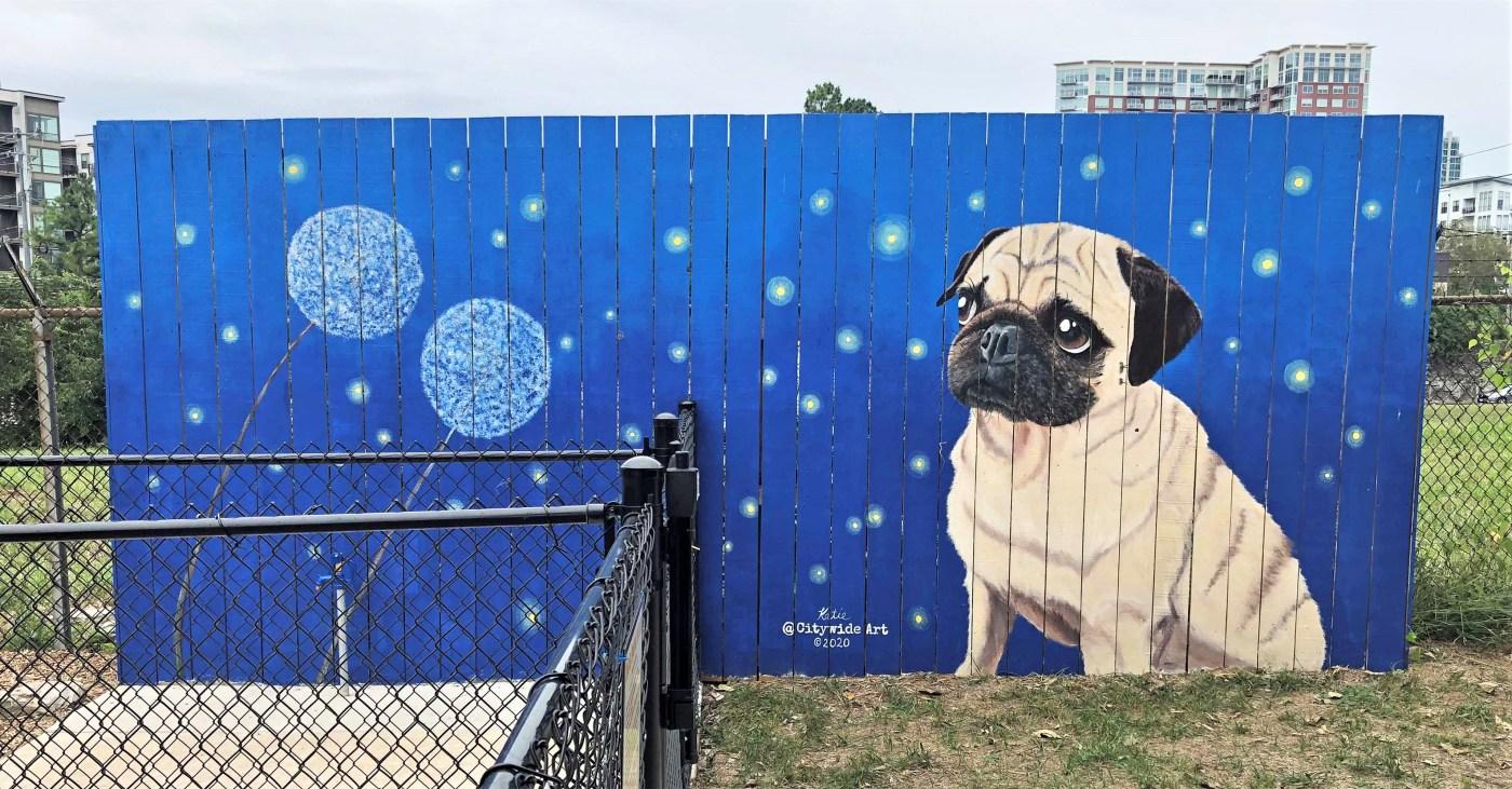 Pug Gulch Mural Nashville street art