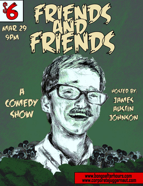 Friends and Friends 3/29 at Bongo Java