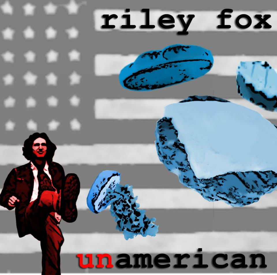 "Riley Fox - ""Unamerican"" cd - front"