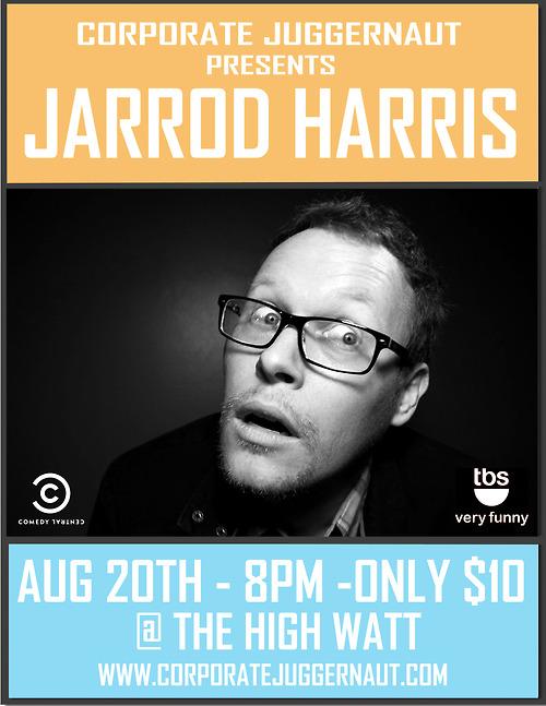 Jarrod Harris 8/20/2012