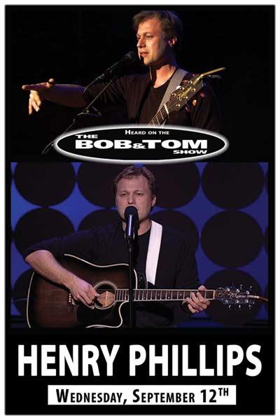 Henry Phillips at Zanies September 12, 2012