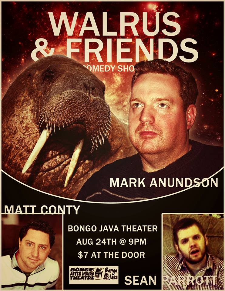Walrus and Friends @ Bongo Java Theater 8/24/2013