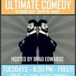 ultimate comedy @ the east room every tues