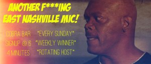 Another F***ing EN mic! - Sundays at The Cobra