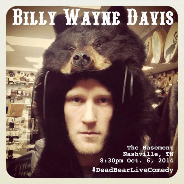 10/6/2014 Billy Wayne Davis at The Basement