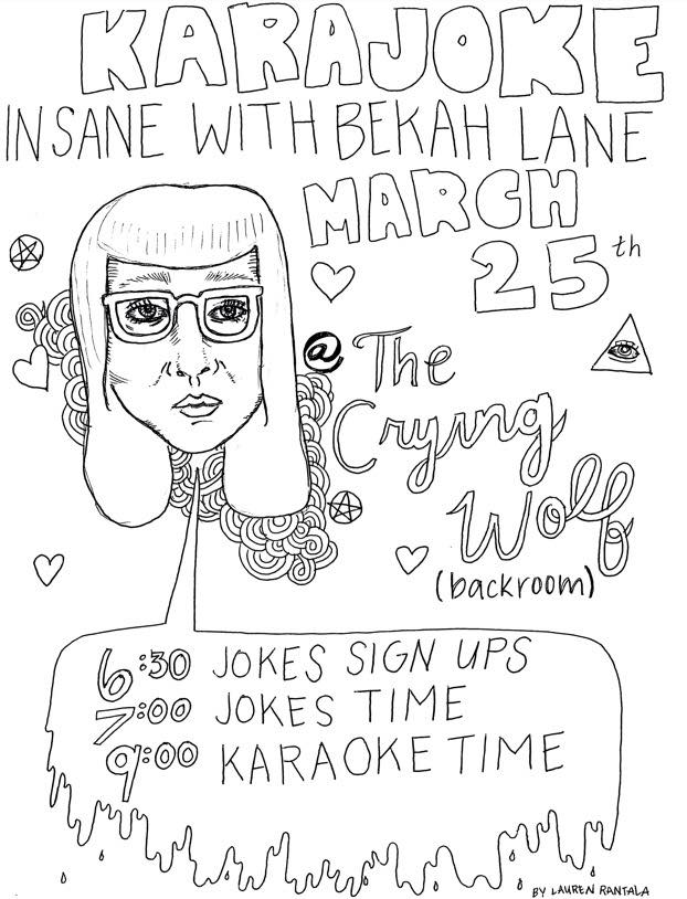 KARAJOKE at The Crying Wolf 3/25/2015