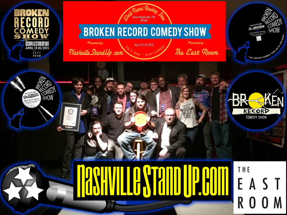 #BrokenRecordShow started 4/12/2015 12:04pm with D.J. Buckley & ended 4/20 4:20am with Chad Riden.